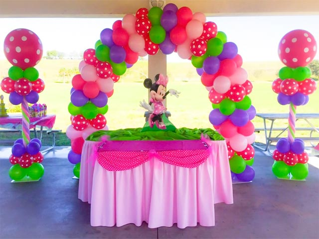 Look At Some Of The Birthday Balloon Decoration Ideas